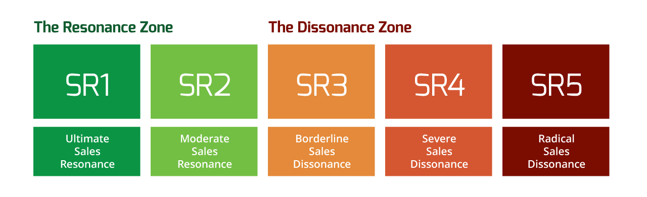 Sales Resonance - buyer strategy, processes, offering and content